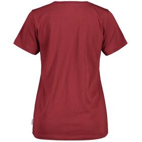 Maloja ForbeschaM. T-shirt Dames, red monk